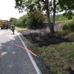 Angelbachtal: Zwei Flächenbrände breiteten sich schnell aus