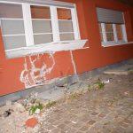 Epfenbach: Auto prallte gegen Wohnhaus