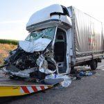 Tödlicher Verkehrsunfall auf der A 6 bei Bad Rappenau