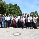 Mitgliederversammlung der Burgenstraße auf Burg Steinsberg