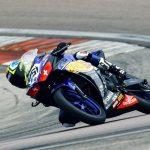 Alanis schnellste Motorradrennfahrerin beim Yamaha R3 Cup