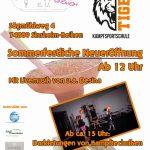 Sommerfest Kulturverein Tellerrand und Kampfsportschule Tiger Muay Thai