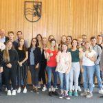 20 junge Menschen haben ihre Ausbildung beim Rhein-Neckar-Kreis begonnen
