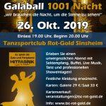 """Galaball """"1001 Nacht"""""""