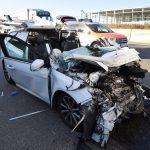A6 bei Bad Rappenau nach schwerem Unfall gesperrt – Polizei geht gegen Gaffer vor