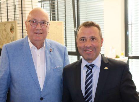 80. Geburtstag des ehemaligen Ersten Bürgermeisters Helmut Beck am 15. September