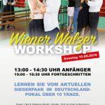 Wiener Walzer Workshops fallen aus