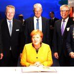 Klima Arena Sinsheim – Einweihung mit Bundeskanzlerin Merkel