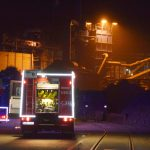 Eppingen: Brand in Recyclingfirma