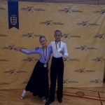 Zwei Vize-Landesmeistertitel für TSC Rot-Gold Paar Amadée und Sophia Köhler