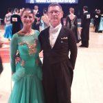 Sinsheimer Paar bei der Weltmeisterschaft der Senioren III Standard in Bilbao/Spanien