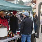 Angebot beim Waldangellocher Weihnachtsmarkt