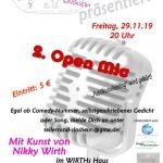 Zweiter Open Mic