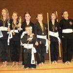 Viet Vo Dao Sinsheim holt mehrere Plätze bei den ersten Süddeutschen Viet Vo Dao Formenmeisterschaften