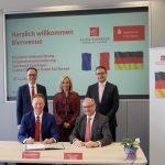 Sparkasse Kraichgau und Caisse D'Epargne Grand Est Europe schließen Kooperationsvereinbarung