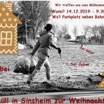 Kein Müll in Sinsheim zur Weihnachtszeit