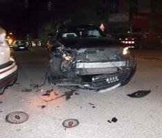 Sinsheim: Unfall in der Dührener Straße/Lange Straße – beide Autos nicht mehr fahrbereit