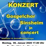 Neujahrskonzert des Gospelchor Sinsheim