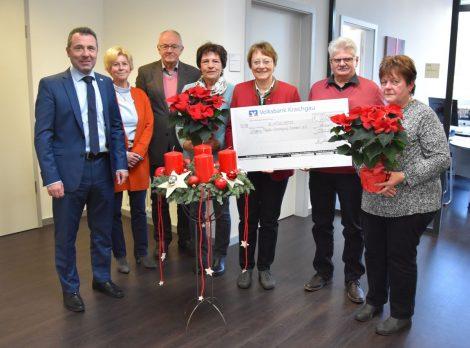 2000 Euro für die Initiative Palliativ-Versorgung