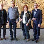 Dienstjubiläen und Verabschiedung verdiente Kräfter des Landratsamtes in den Ruhestand