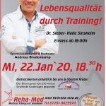 Vortrag über Training und Lebensqualität