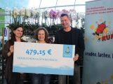 "479,15 € an das Kinderklinikradio ""RUMMS"""