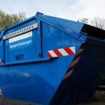 Papier-Container in Sinsheim aufgestellt
