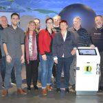 Gabi Rolland, umweltpolitische Sprecherin der SPD-Landtagsfraktion zu Besuch in der Klima-Arena