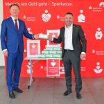 Sparkasse Kraichgau spendet 15.000 medizinische Schutzmasken