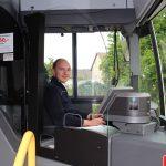 Erster SWEG-Bus mit Trennscheibe am Fahrerarbeitsplatz ausgerüstet