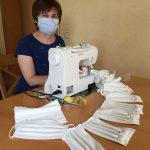 Über 1.000 Gesichtsmasken für Sinsheimer Einrichtungen genäht