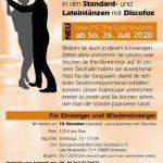 Neuer Workshop beim TSC Rot-Gold Sinsheim