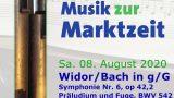 """Widor/Bach in g/G"""