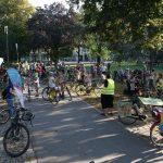 Die Kidical Mass erobert mit ihren bunten Fahrraddemos die Straßen in Heidelberg