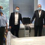 Dr. Albrecht Schütte besuchte GRN-Kliniken Eberbach und Sinsheim