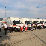Katastrophenschutz: Land übergibt zwei GW-BT 1-Fahrzeuge an das Landratsamt Rhein-Neckar-Kreis