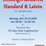 Einsteigertanzkreis Standard & Latein