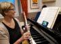 Querflötenduell in der Musikschule
