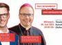 """""""Talk im Bahnhof – Lars Castellucci trifft…"""" Bischof Stephan Ackermann im Theater im Bahnhof in Dielheim"""