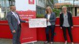 Sparkasse unterstützt Förderverein Kraichgau-Hospiz